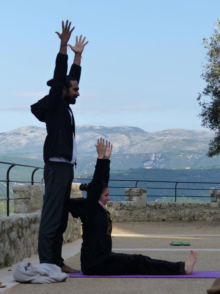 Yoga provence saint-cezaire-sur-siagne